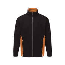 ORN SILVERSTONE FLEECE SMALL BLACK AND ORANGE