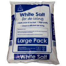 23KG BAG OF WHITE ROCK SALT