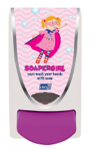 SOAPERGIRL 1LTR SOAP DISPENSER
