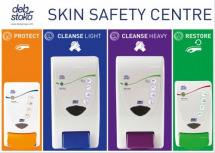 DEB STOKO SKIN SAFETY CENTRE 3-STEP (LARGE:4LTR + 4LTR)