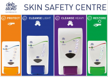 DEB STOKO SKIN SAFETY CENTRE 3-STEP (LARGE:2LTR + 4LTR)