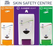 DEB STOKO SKIN SAFETY CENTRE 3-STEP (SMALL:4 LTR)