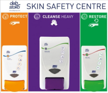 DEB STOKO SKIN SAFETY CENTRE 3-STEP (SMALL:2 LTR)