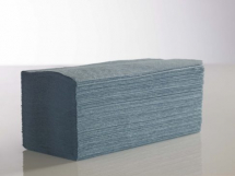 1 PLY BLUE INTERFOLD HAND TOWEL 3600 SHEETS